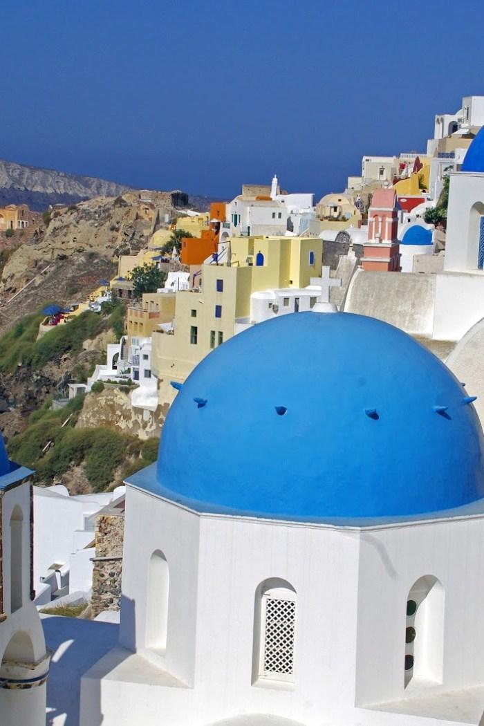 Falling Head Over Heels in Love with Santorini