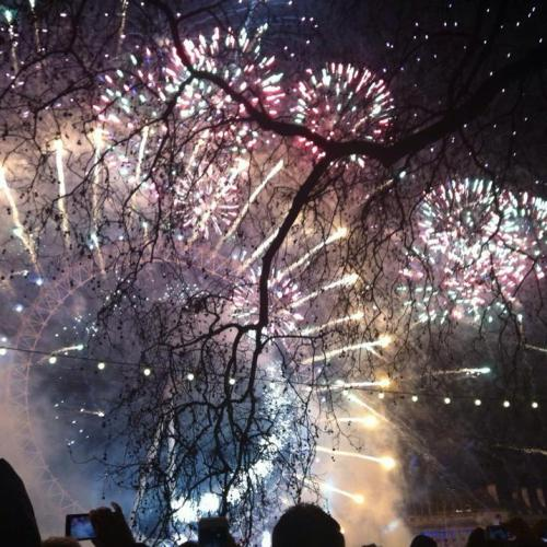 London NYE Fireworks