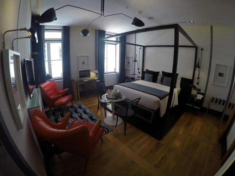 Browns Central Hotel Lisbon Bedroom