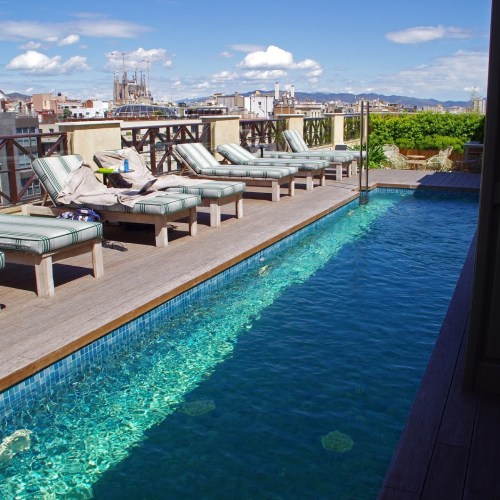 Cotton House Hotel Barcelona Pool