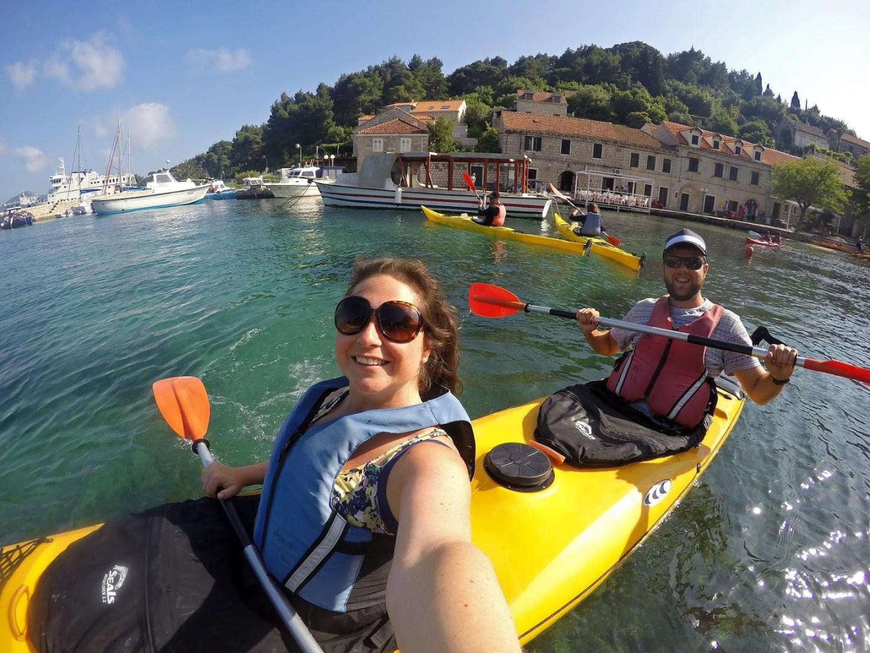 Kayaking the Elafiti Islands with Adriatic Kayak Tours