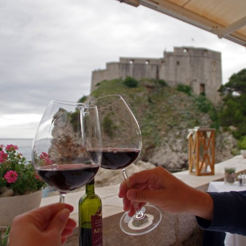 Wine with a View at Nautika Restaurant Dubrovnik