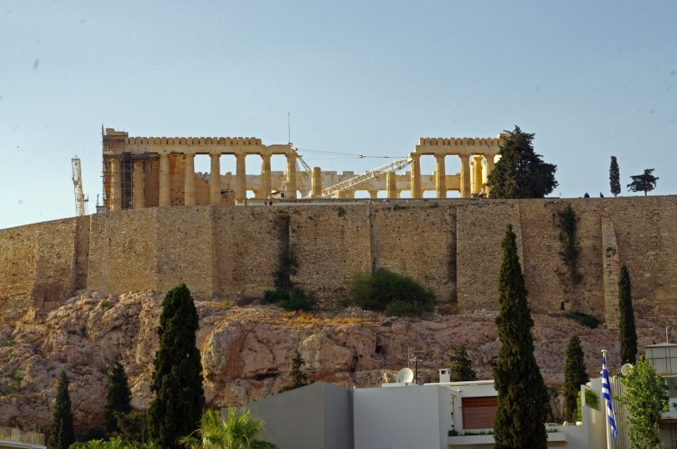 Herodion Hotel Athens Pantheon View