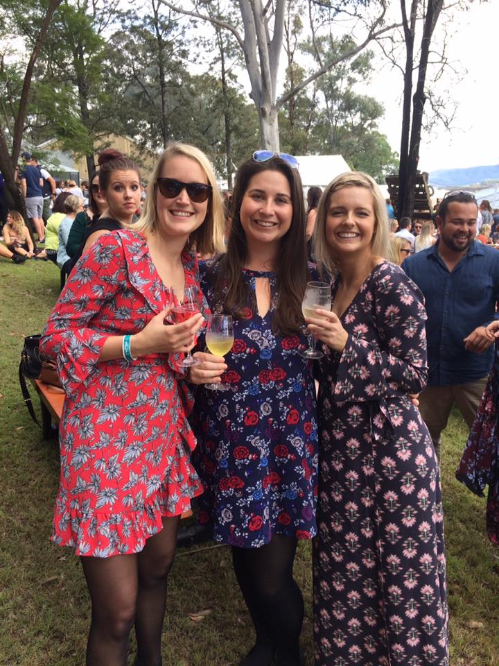 Girls at Lovedale Long Lunch