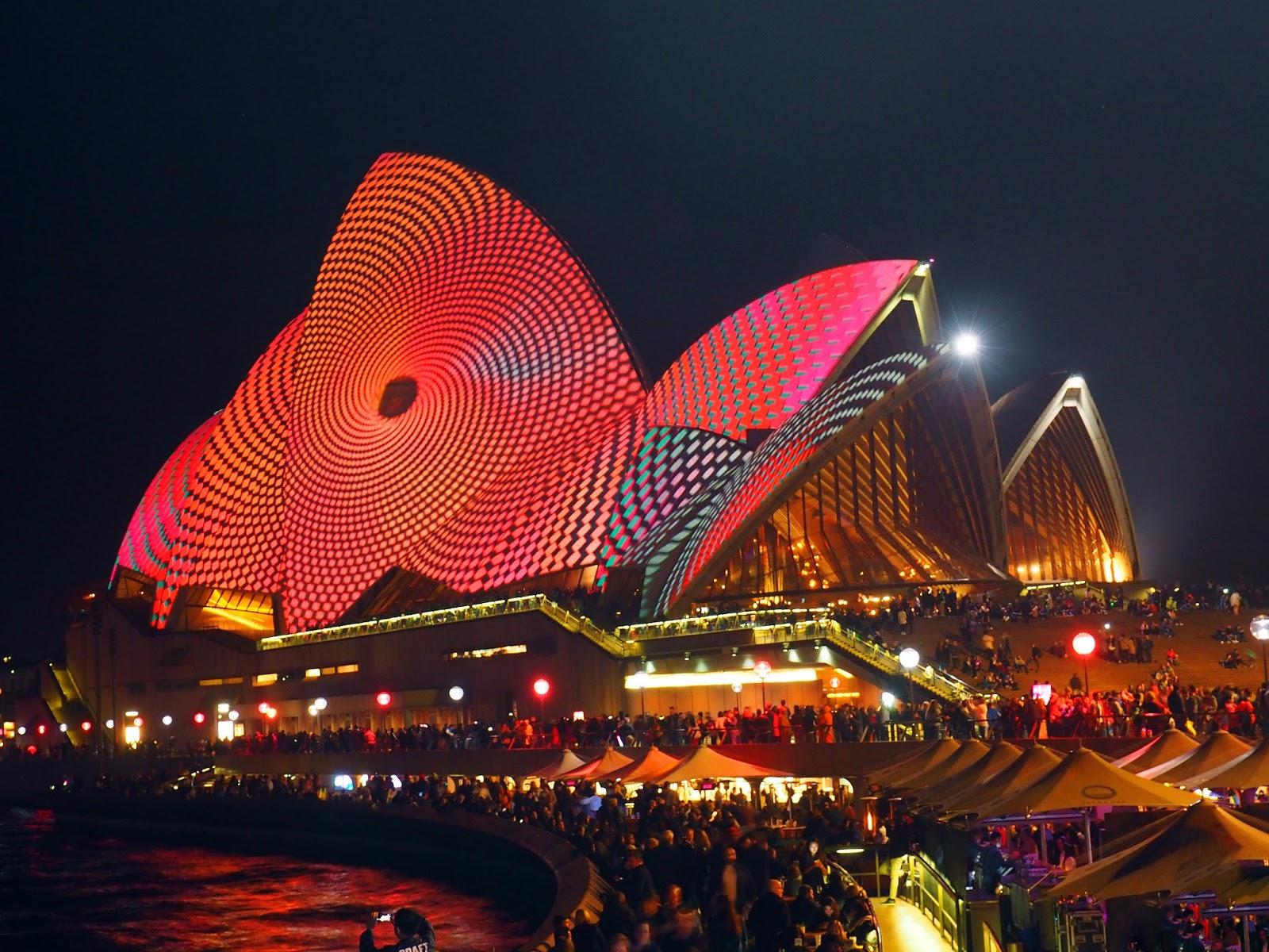 Opera House at Vivid festival