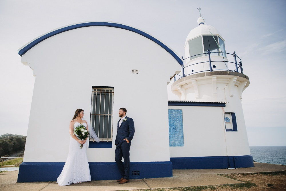 Wedding Tacking Point Lighthouse Port Macquarie