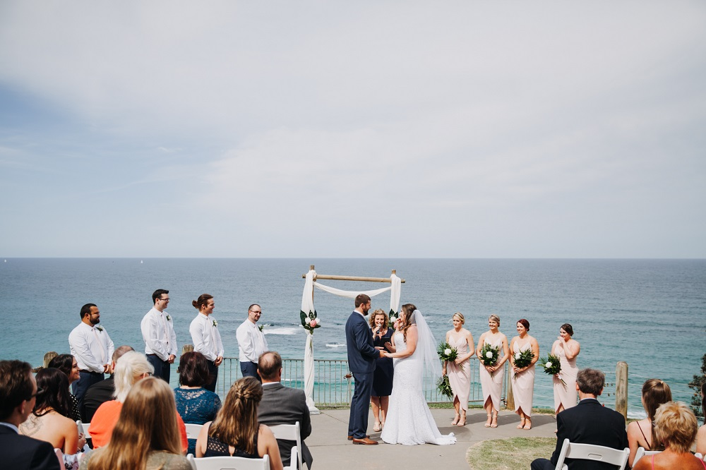 Wedding at Harry's Lookout Port Macquarie
