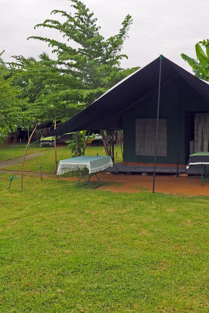 Glamping in Sri Lanka with Master Campers Udawalawe