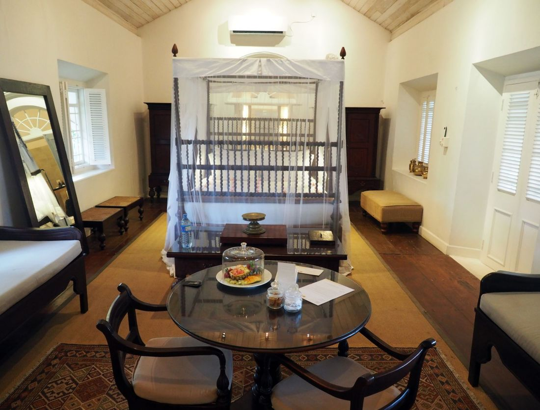 Bedroom Galle Fort Hotel