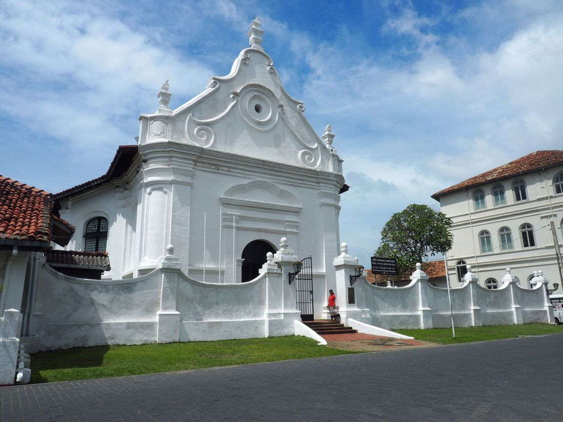 Church in Galle Sri Lanka