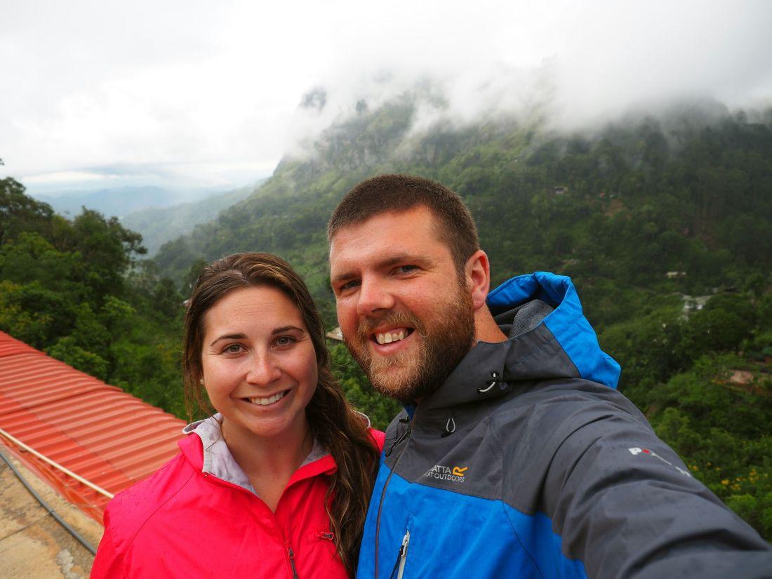 Couple in Ella Sri Lanka