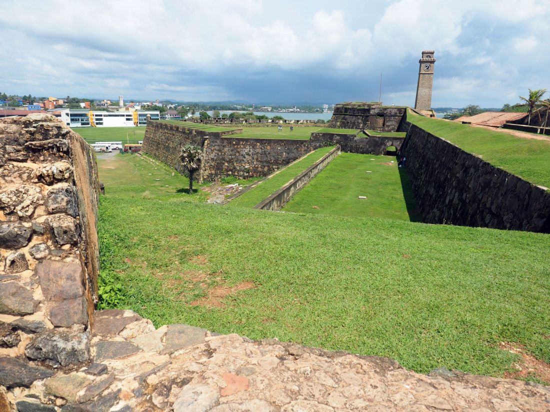 Ramparts and Bastions Galle