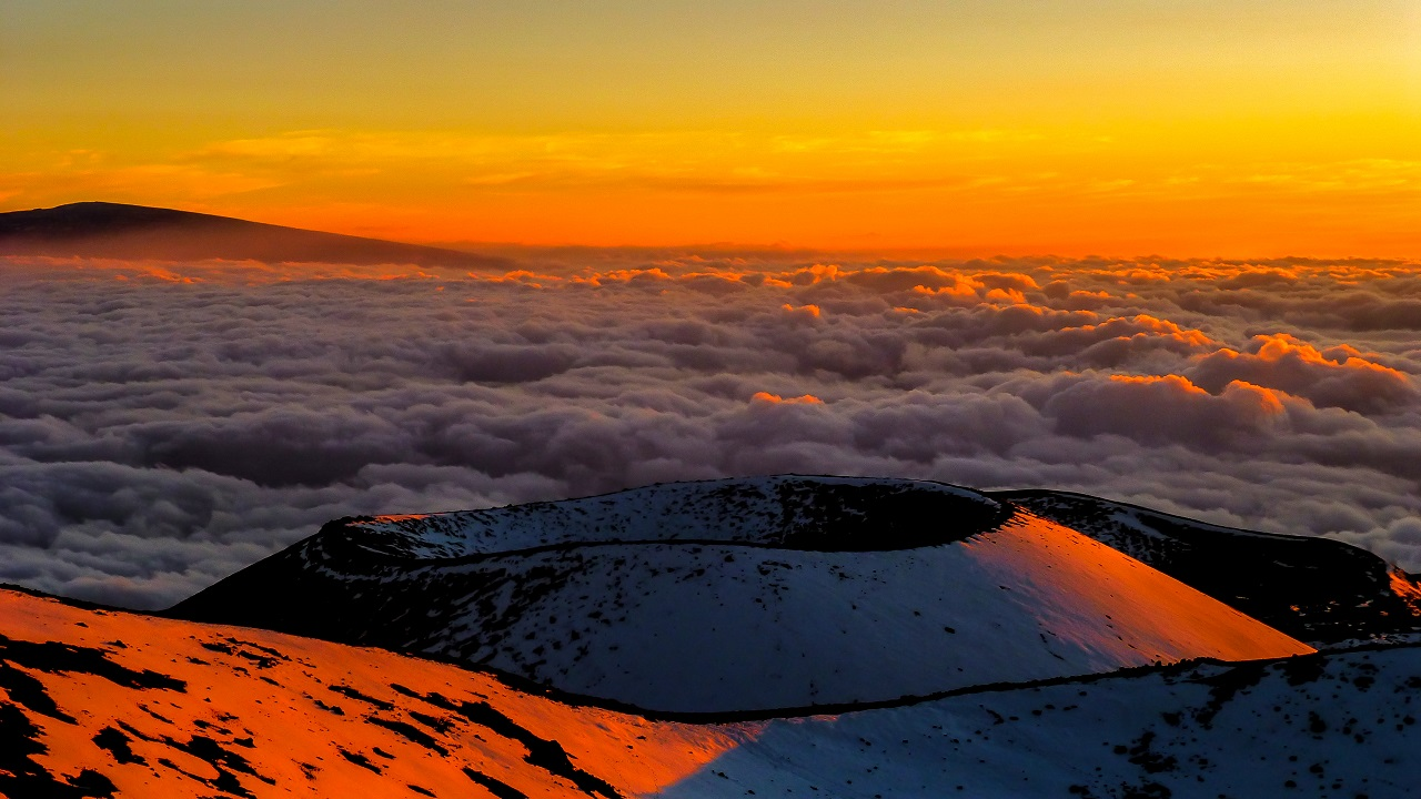 Sunset at Mauna Kea, The Big Island, Hawaii