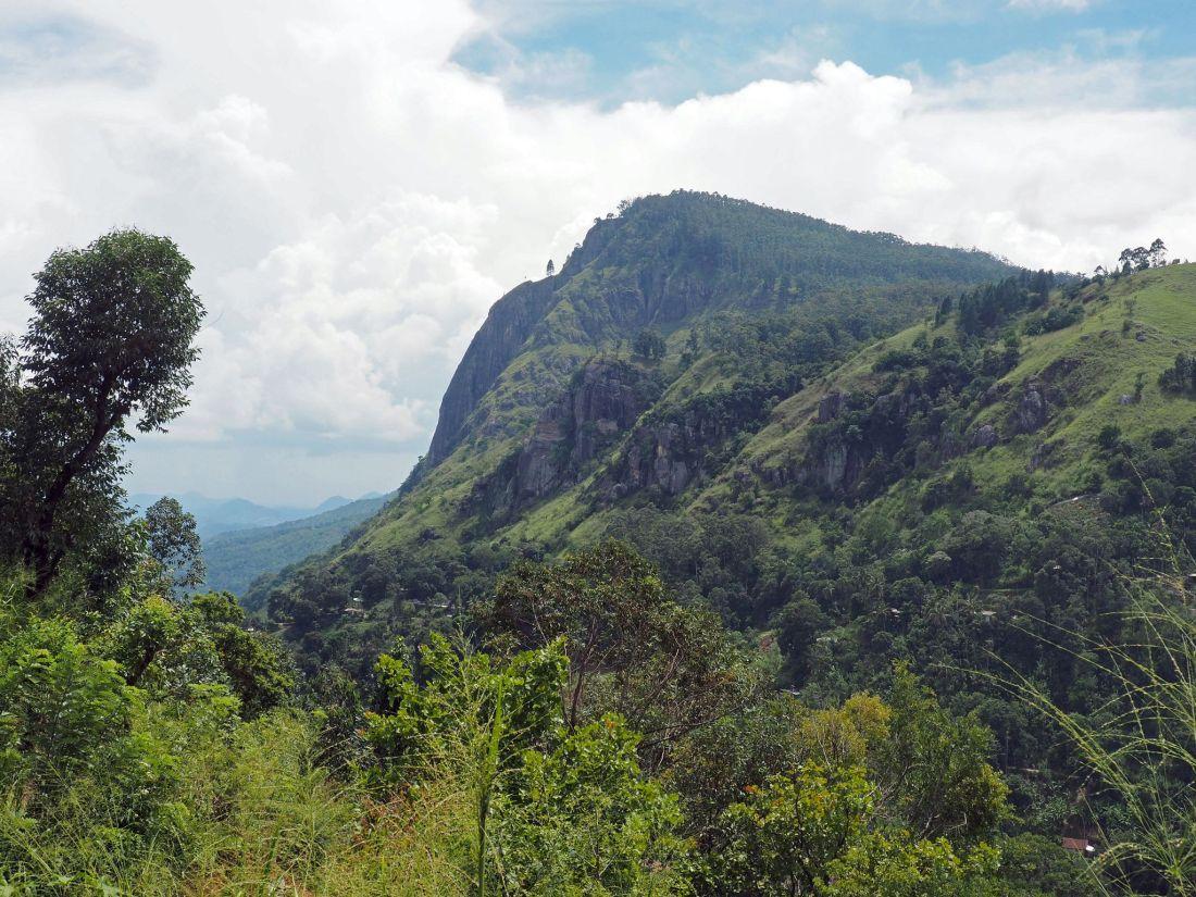 View of Ella Rock Sri Lanka