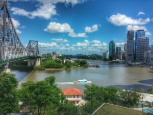 Brisbane River and City