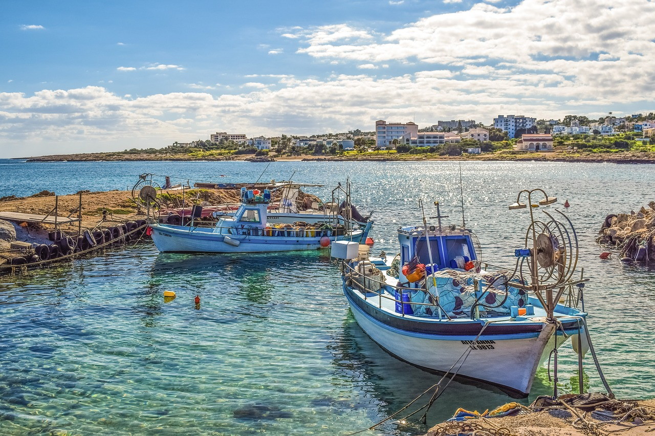 Cyprus Fishing Boats