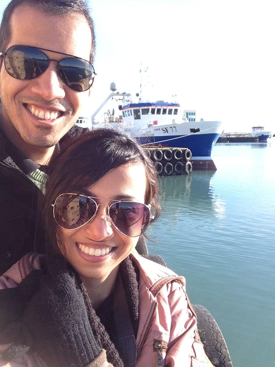 Siddharth & Shruti Iceland Honeymoon
