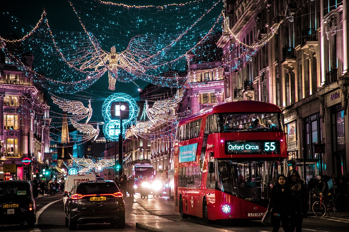 Festive London at Christmas