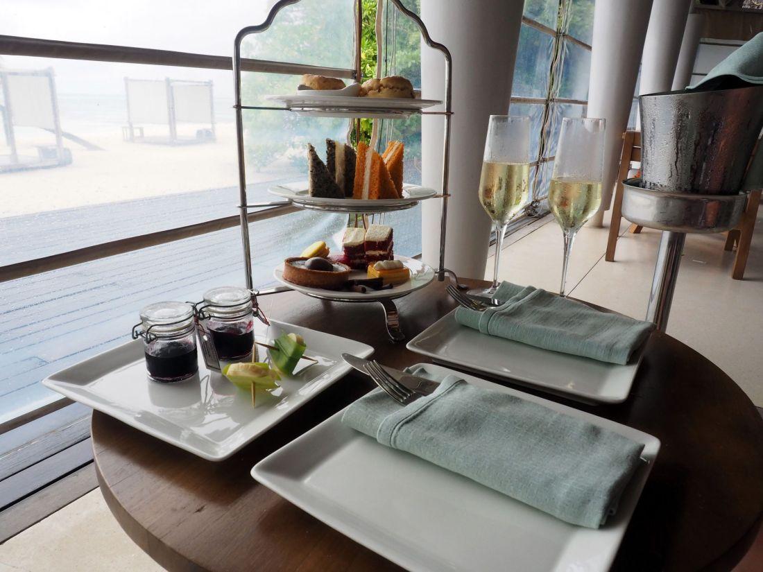 High Tea at Senses LUX Maldives