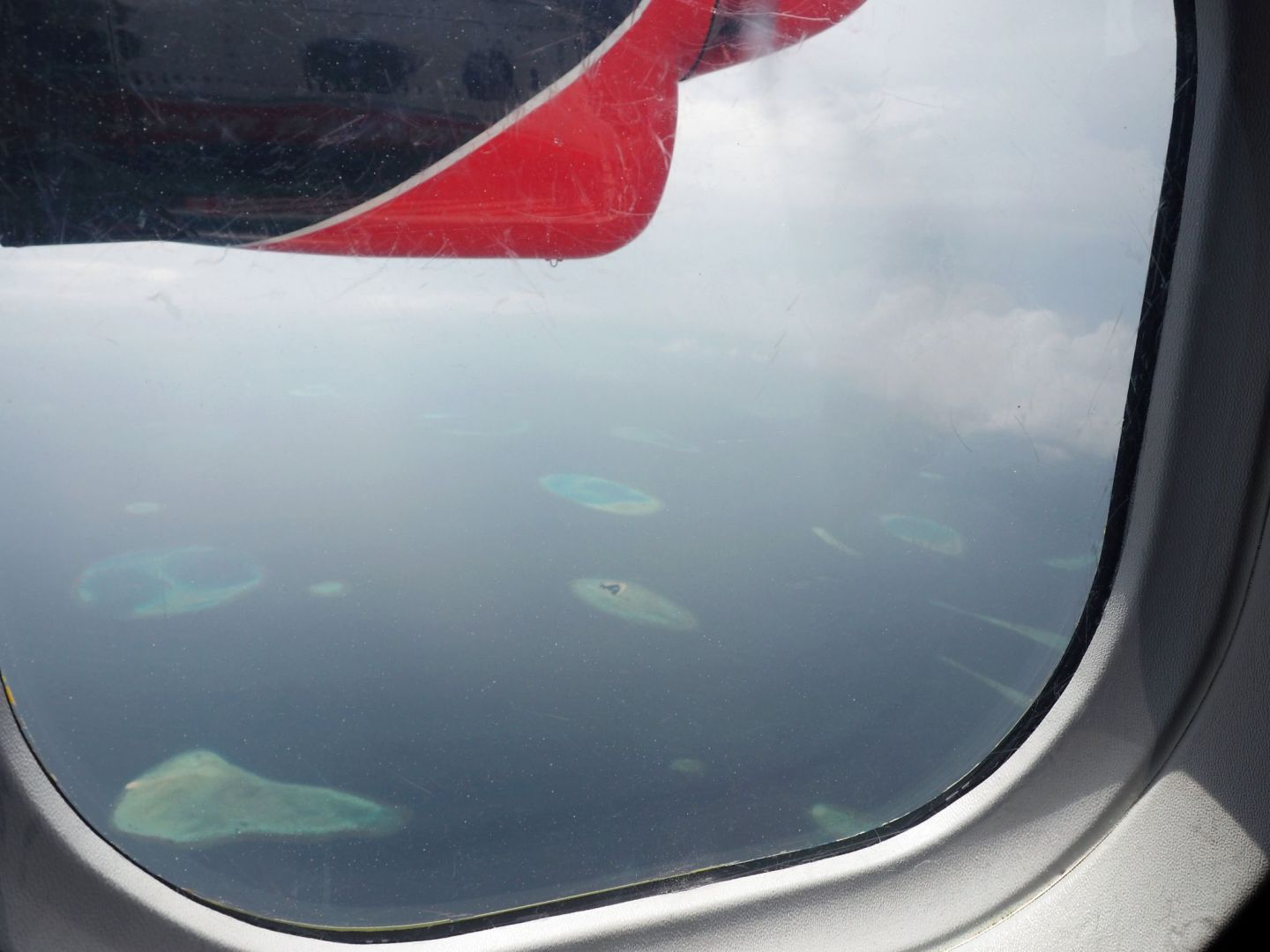 Maldives from Seaplane