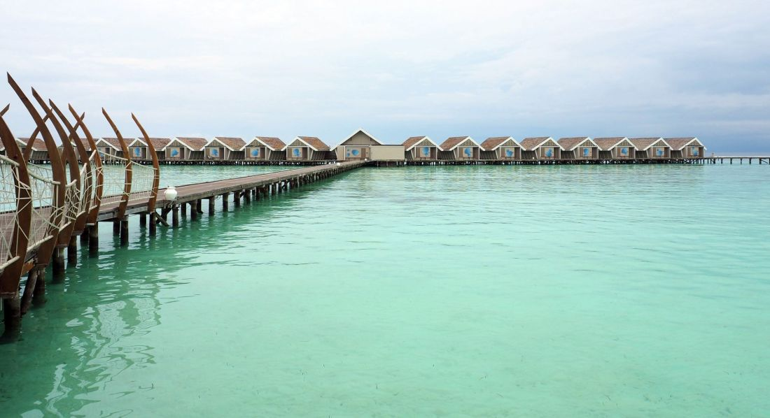Overwater Bungalows LUX South Ari Atoll