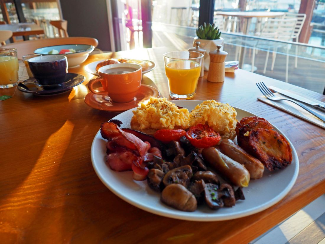 Cooked Breakfast The Boathouse Bar & Restaurant