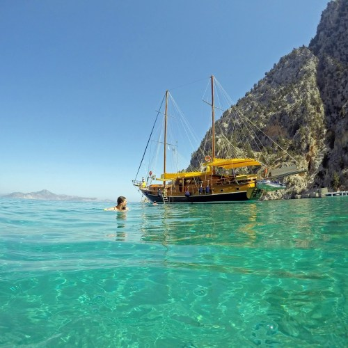 Sailing Turquoise Coast Turkey.