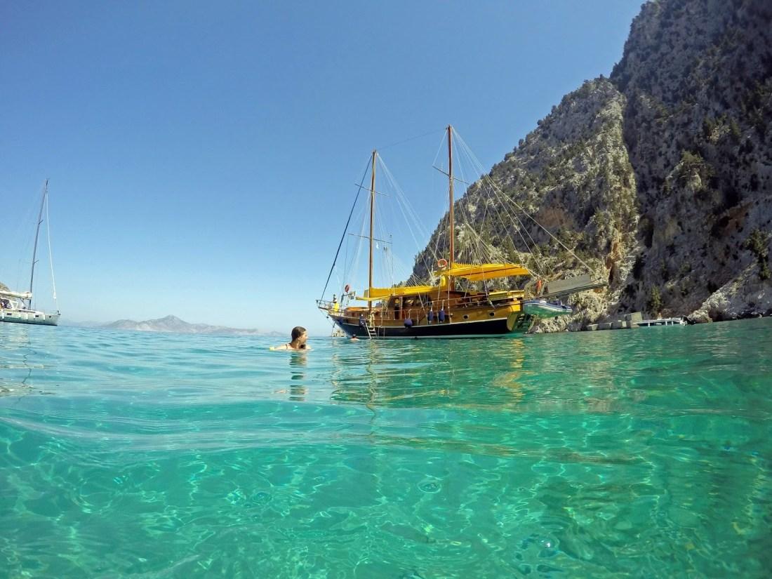 Sailing Turquoise Coast Turkey.