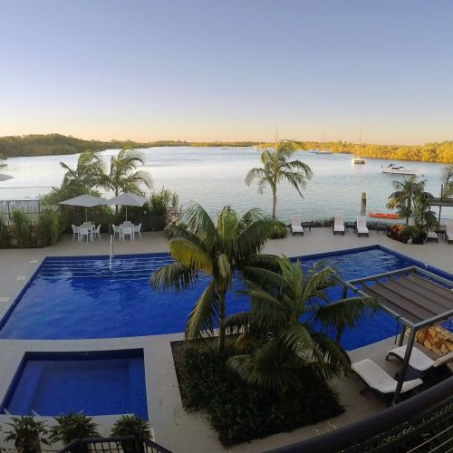 Sails Port Macquarie Pool and River Views
