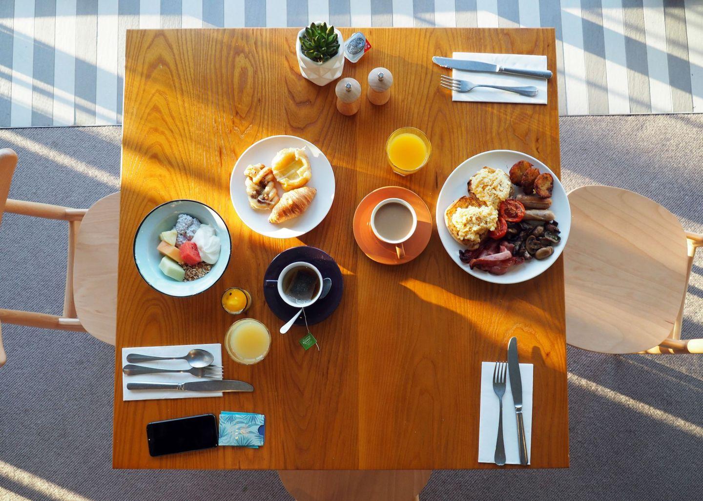 The Boathouse Bar & Restaurant Breakfast