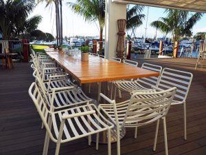 The Boathouse Bar & Restaurant Hamptons Design