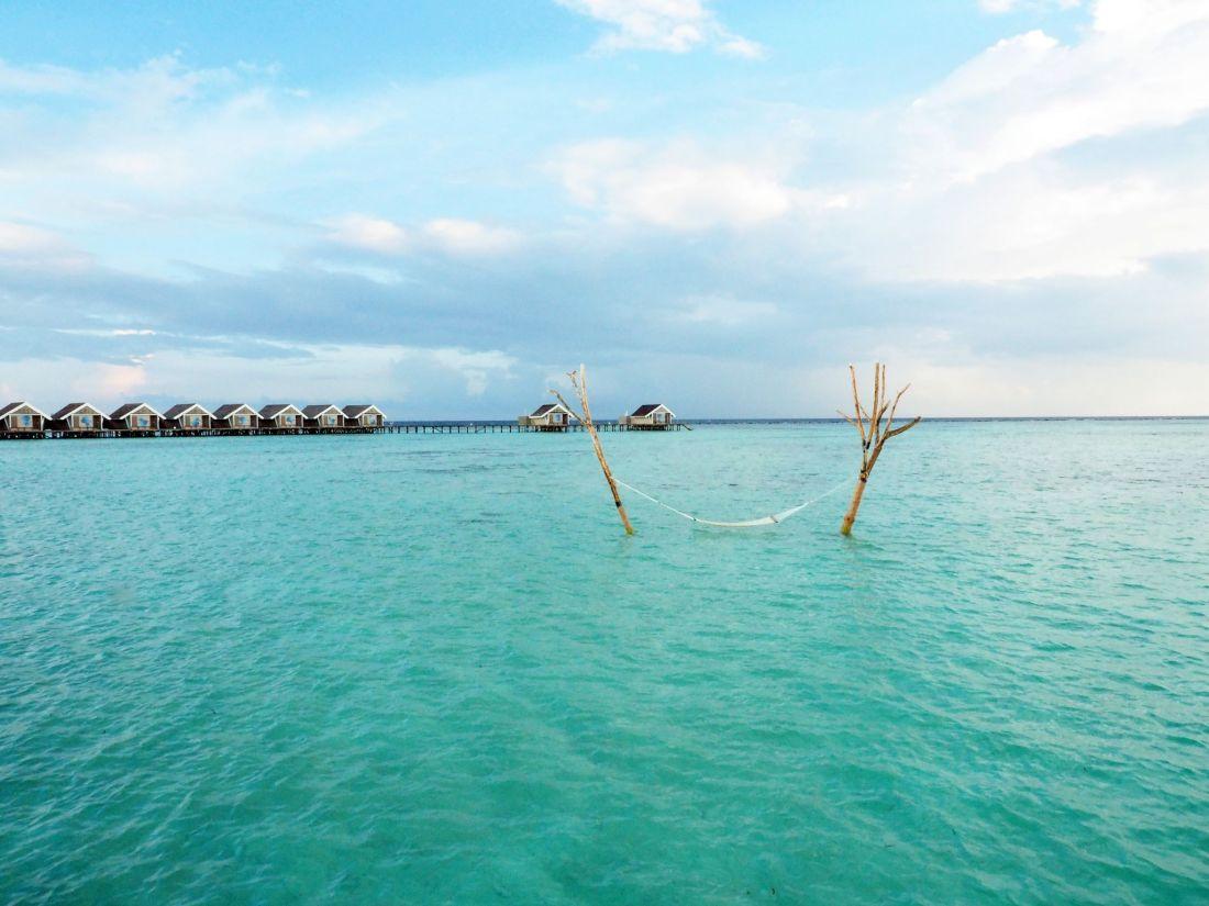 Hammock in Water Maldives