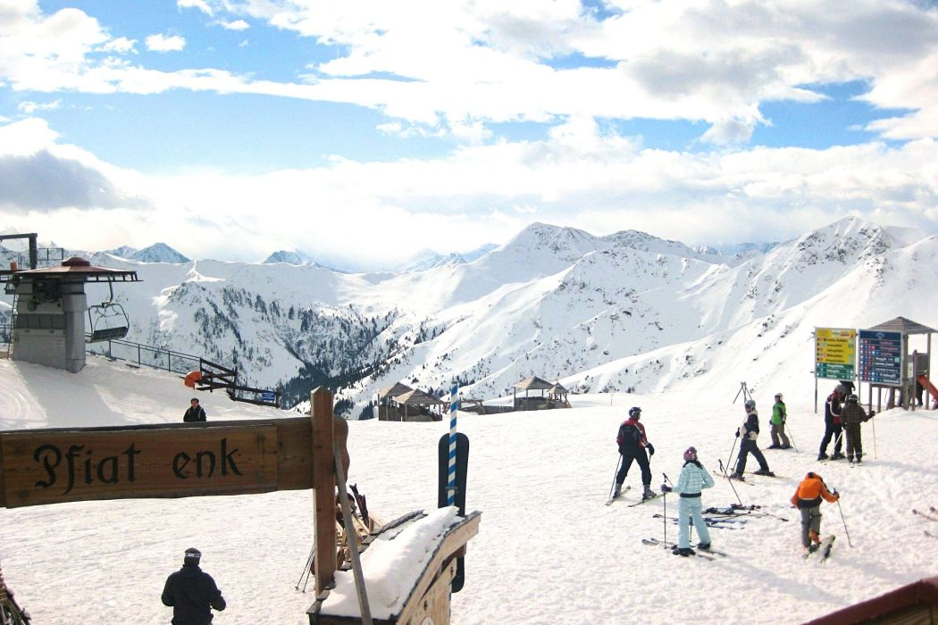 A Ski Holiday in Saalbach