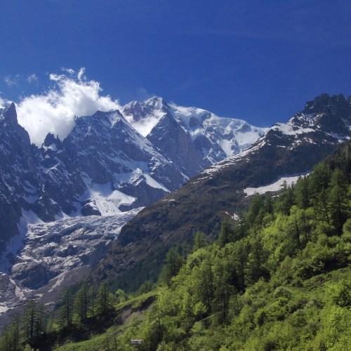 Mont Blanc Hiking