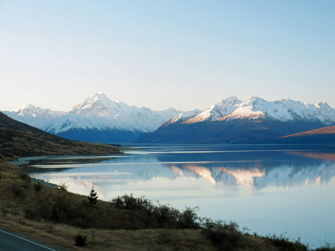 Mount Cook National Park and Lake Pukaki