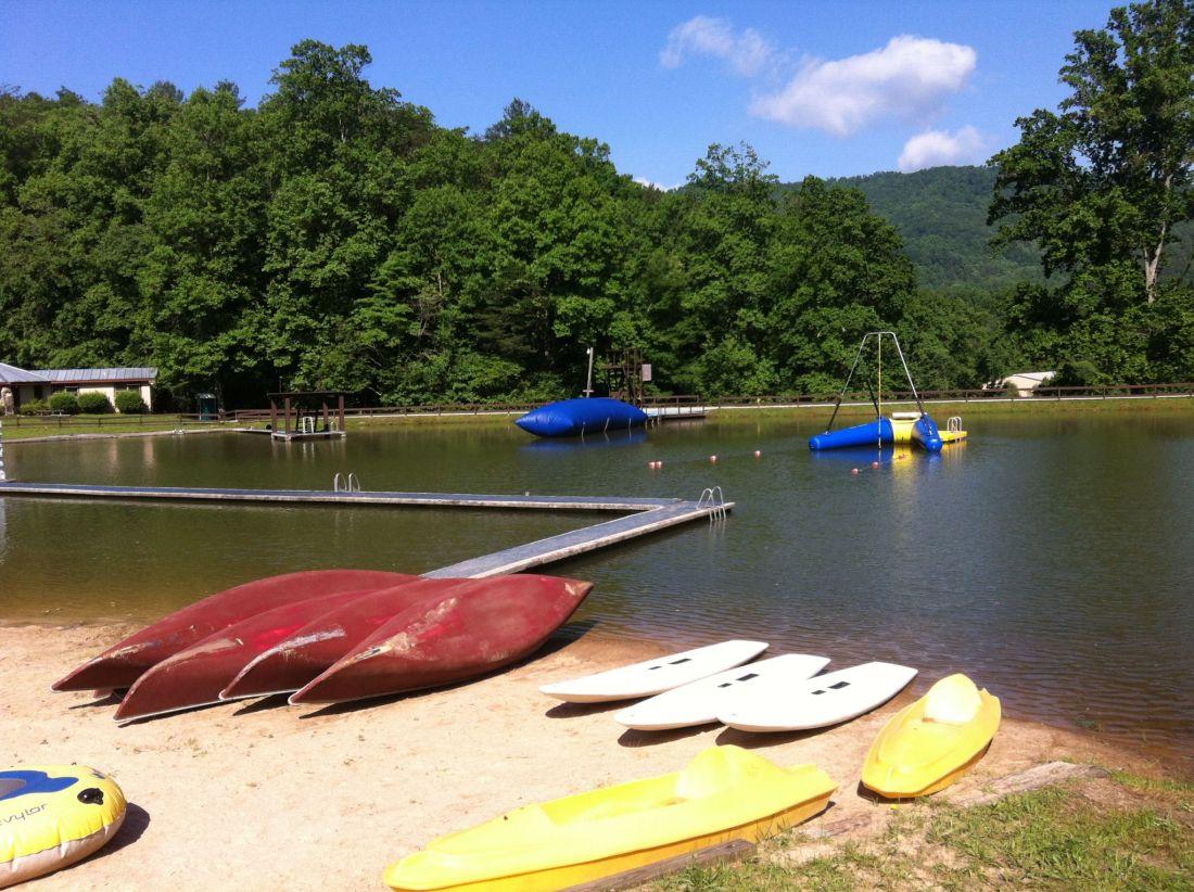 Campy Blue Ridge Lake Georgia