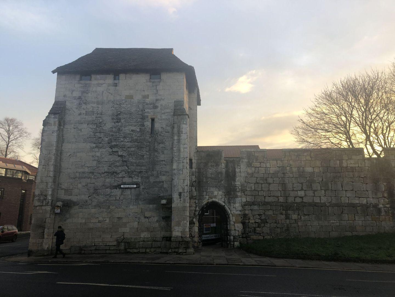 Exterior of York City Walls