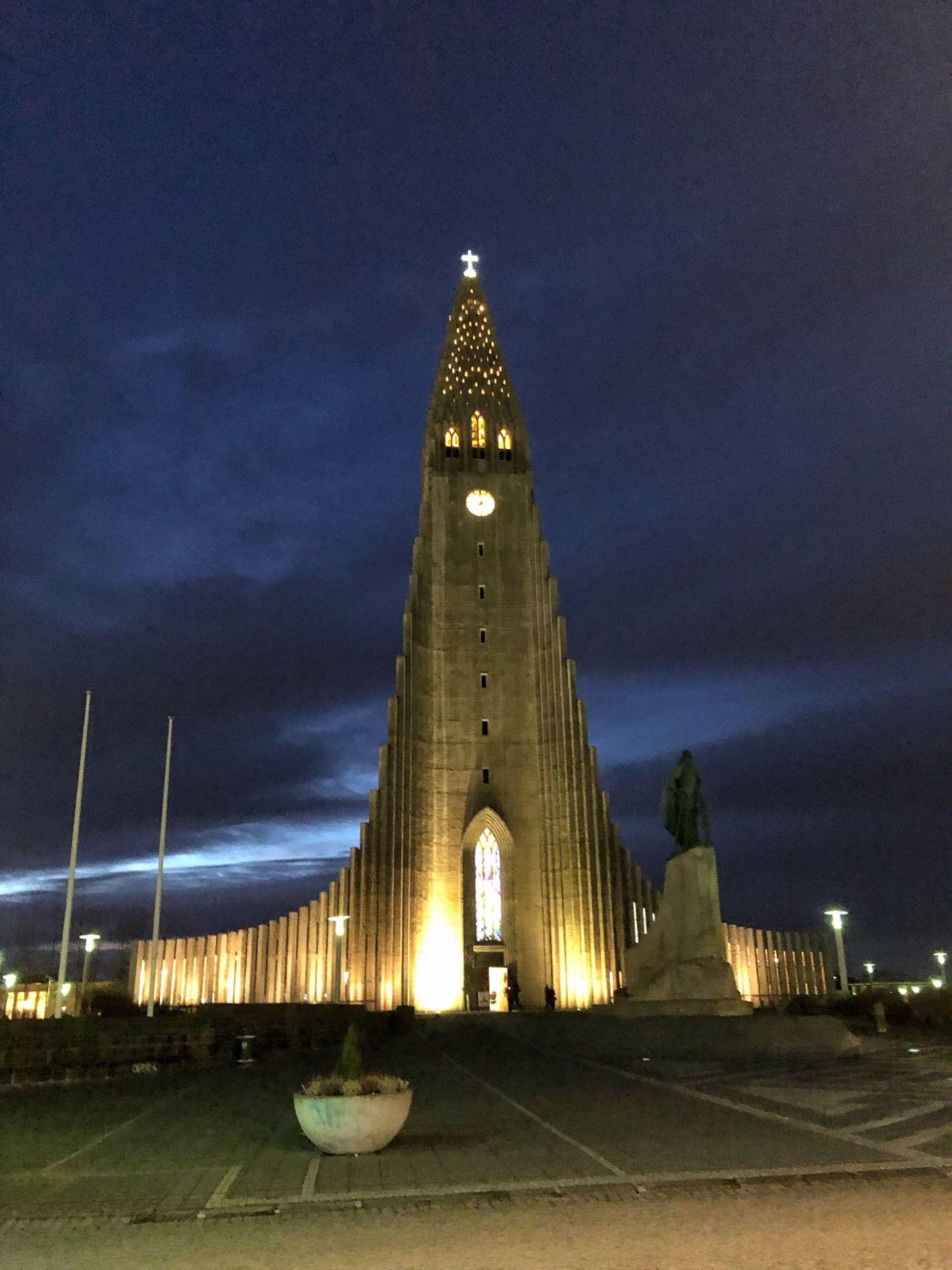 Hallegrimska Church Reyjkavik