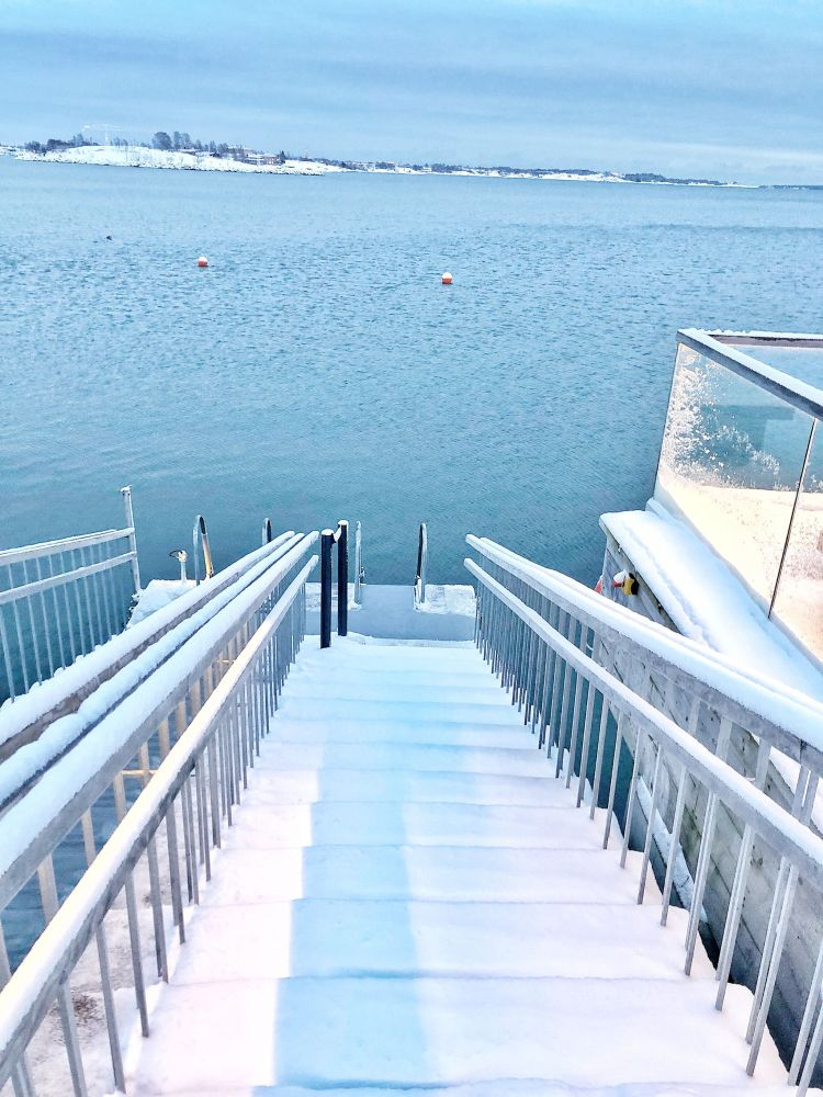 Ice Swimming Helsinki