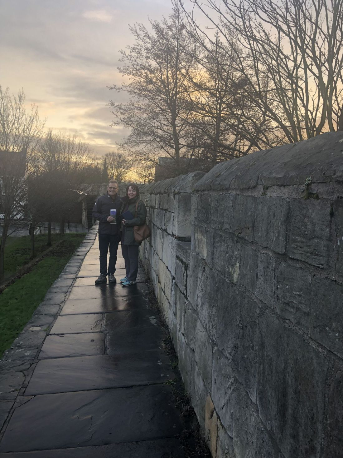 Mum and Dad on City Walls