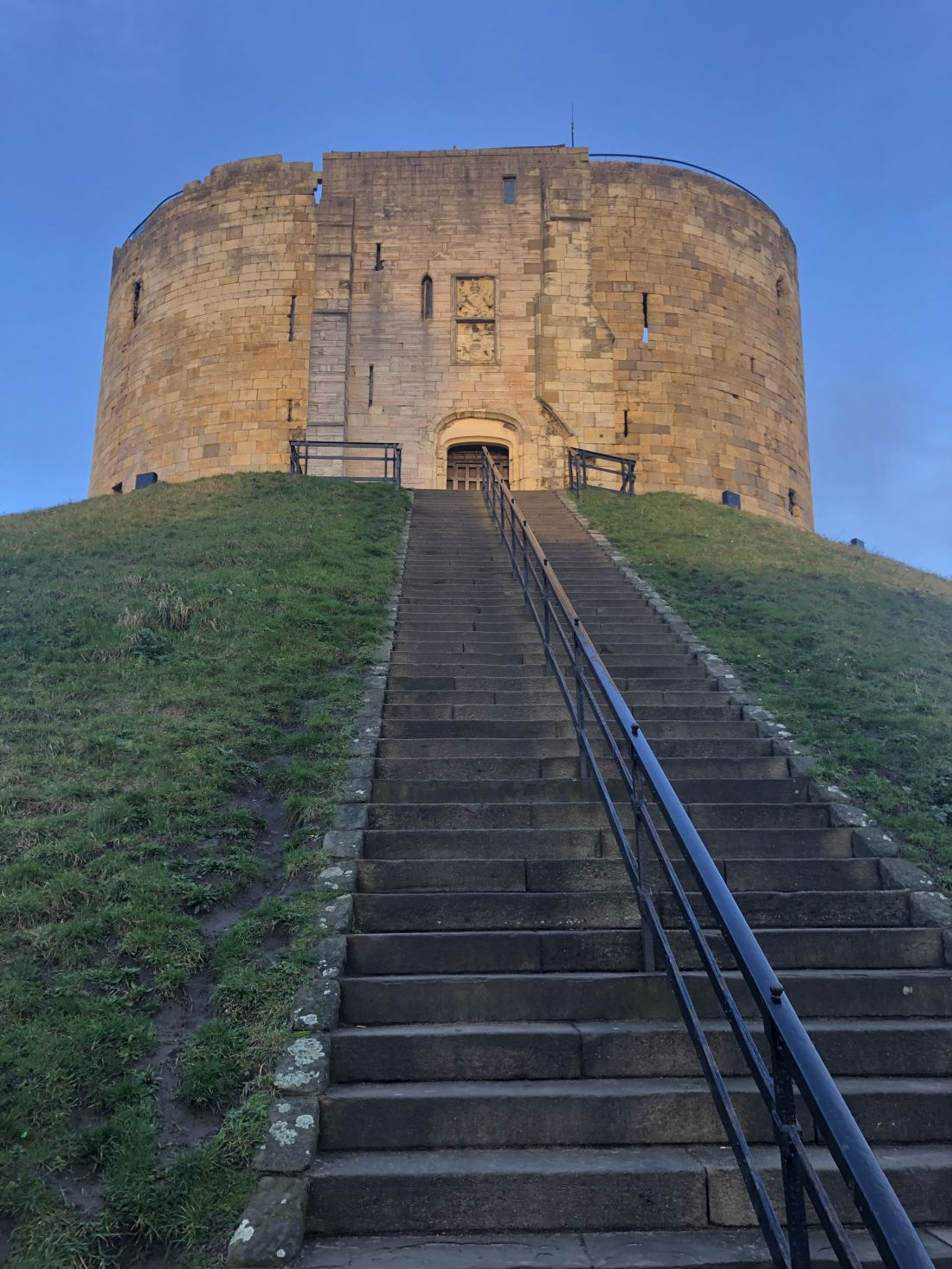 Stairs to Clifford's Tower York