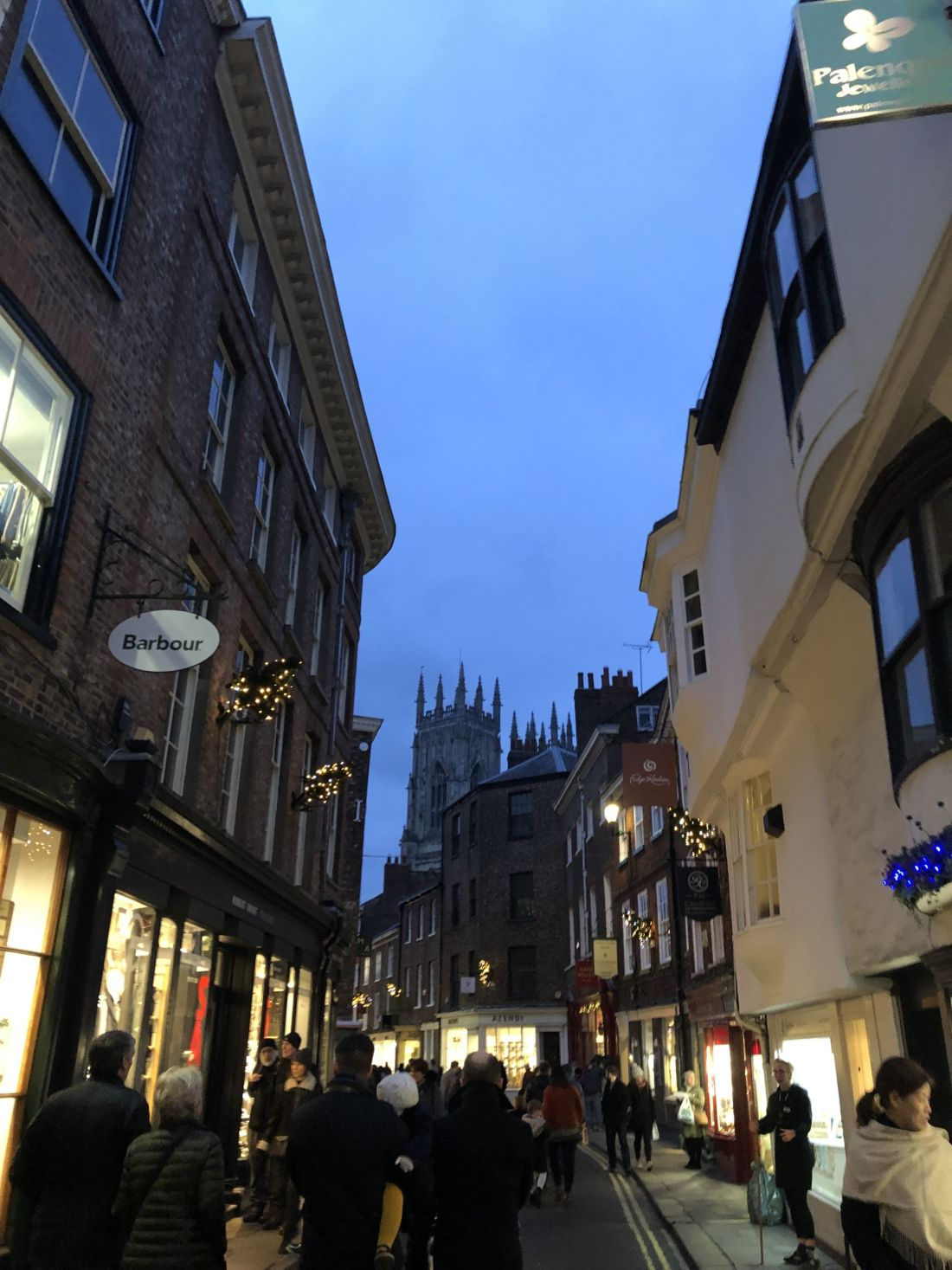 Street to Yorkminster