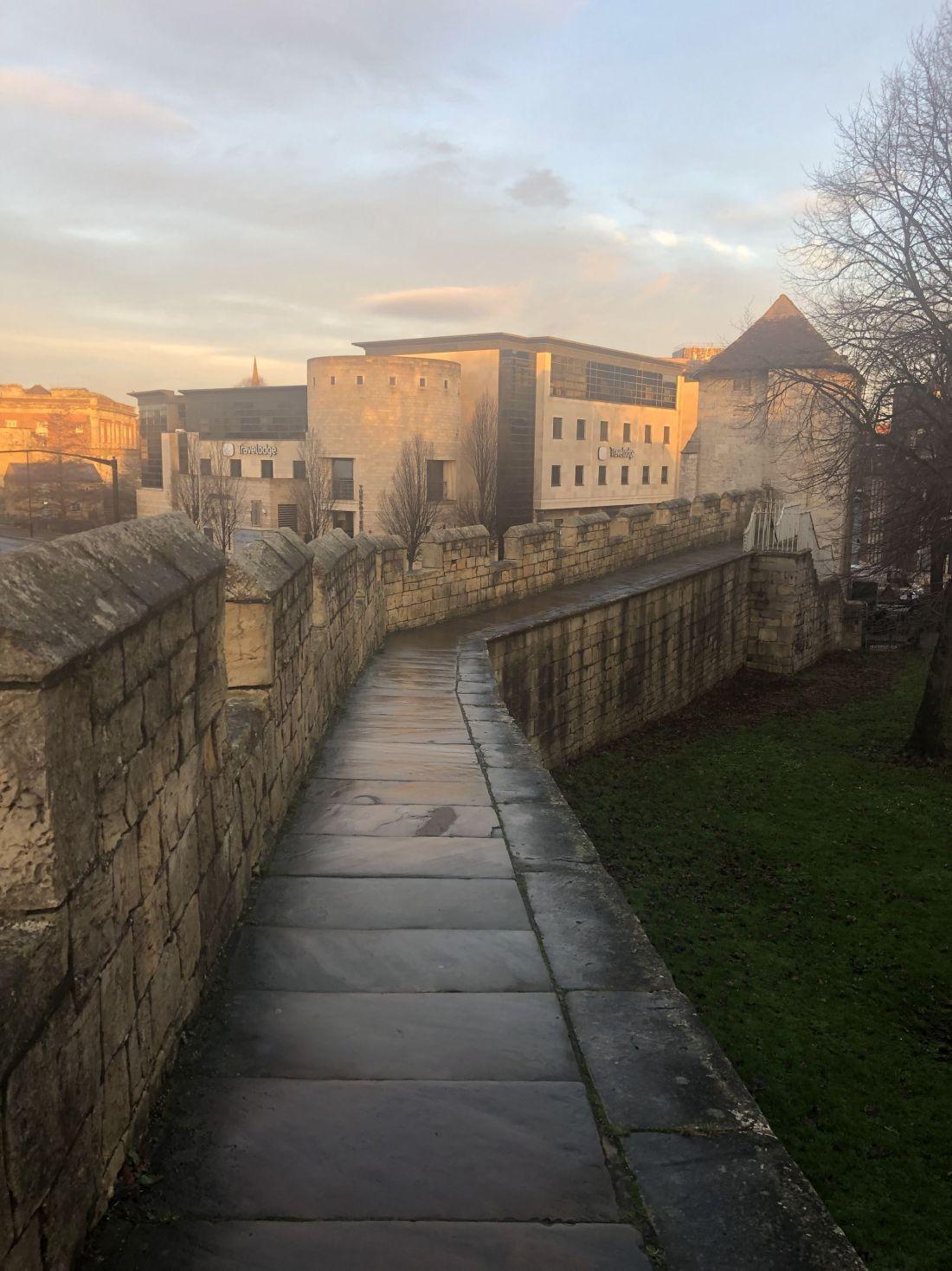 Walking City Walls of York
