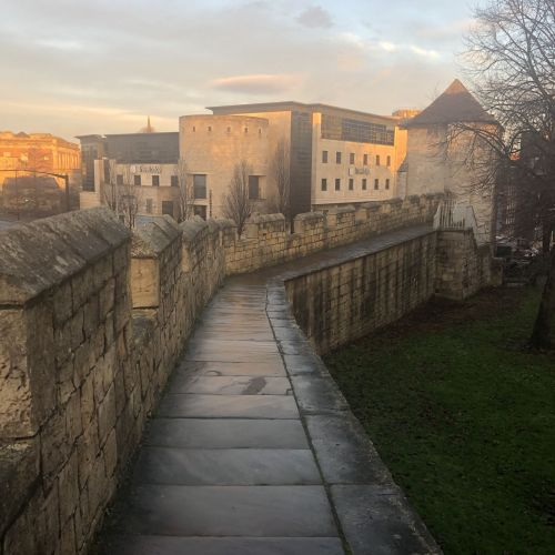 Walking City Walls of York