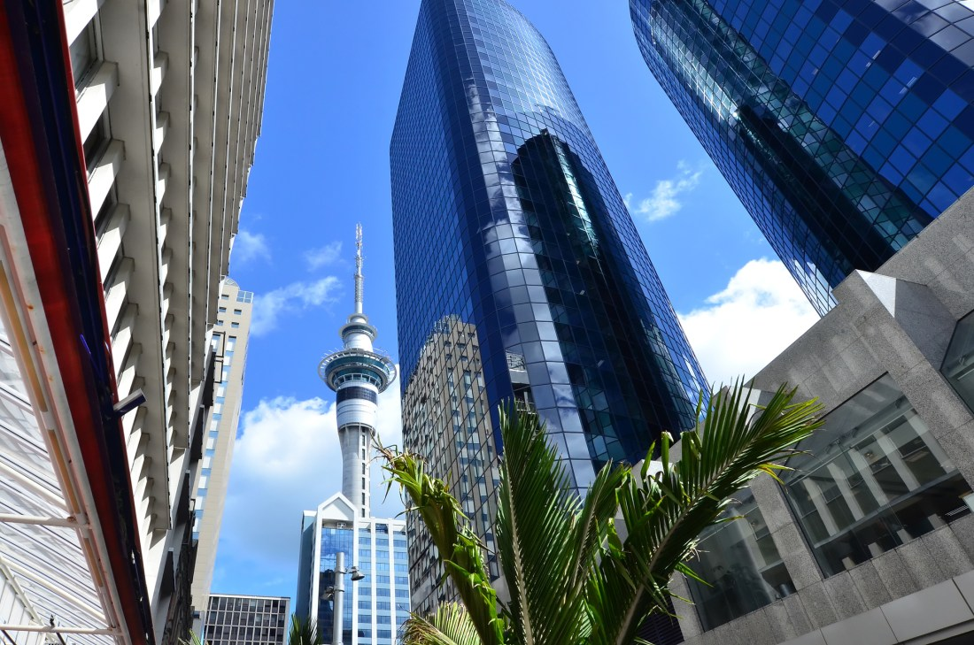 Travel Photos NZ - Auckland Cityscape