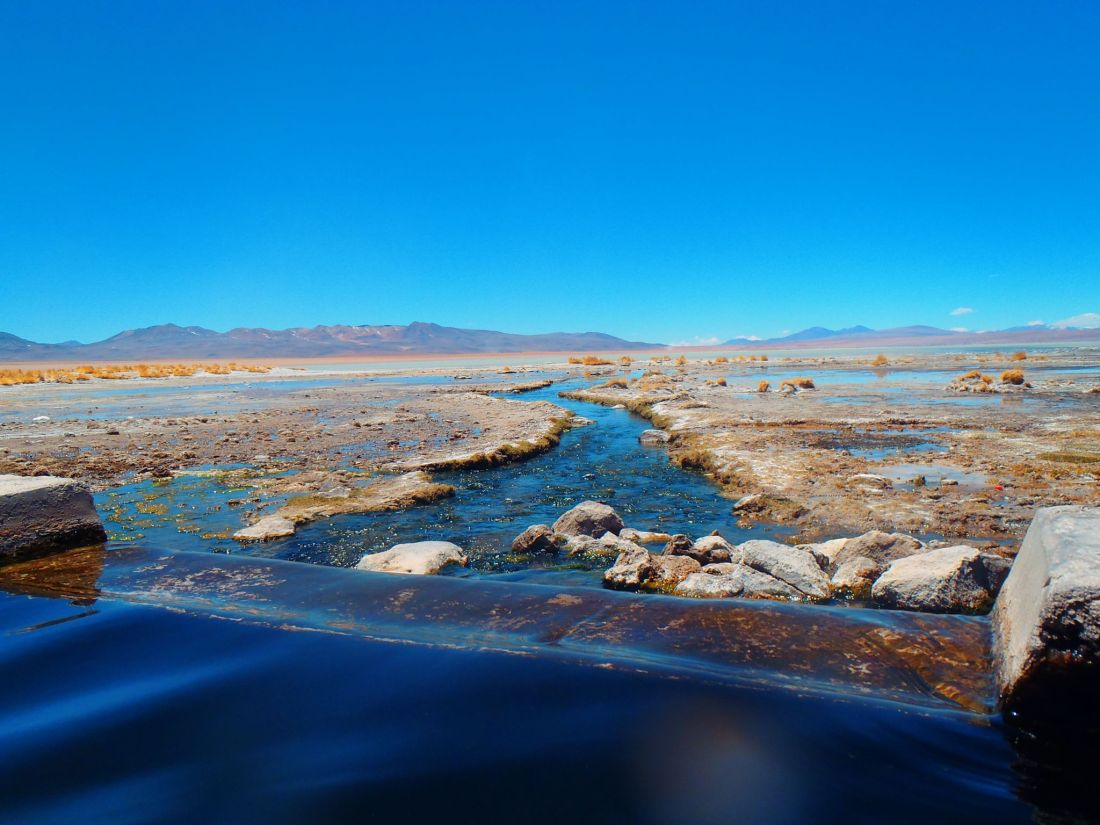 Hot Springs Atacama Desert