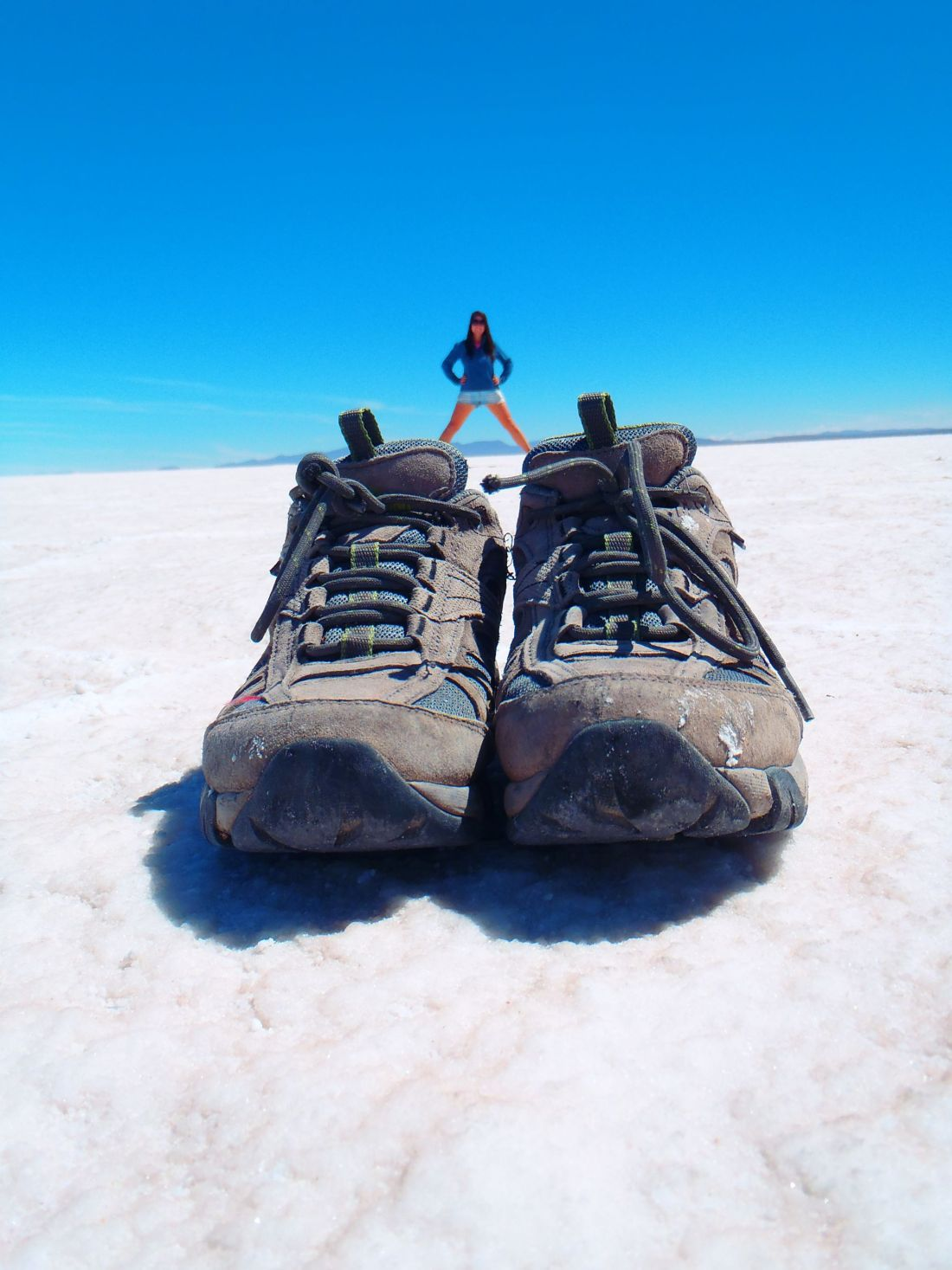Shoe Photo Salar de Uyuni