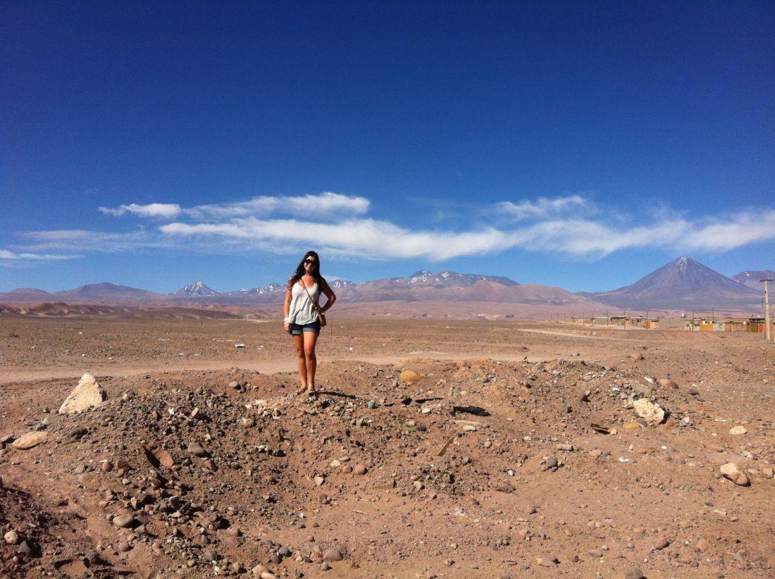 Simone in San Pedro de Atacama
