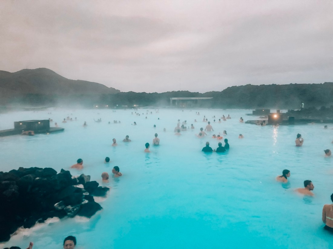 Blue Lagoon Iceland Winter