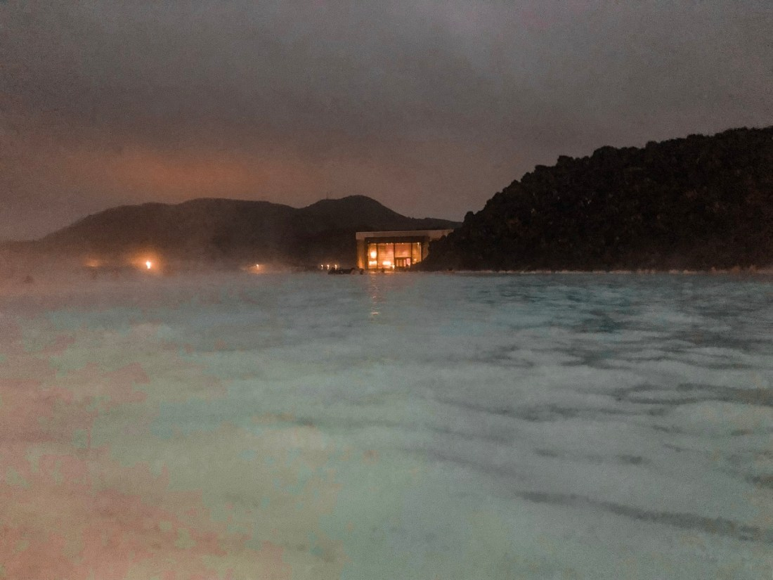 Blue Lagoon in Dark